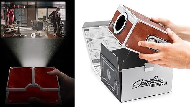 proyector carton