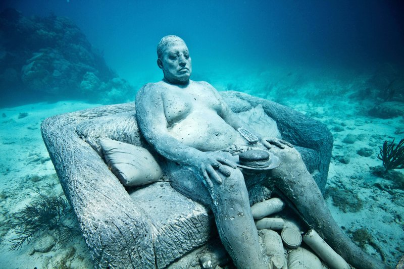 Mexico's Underwater Sculpture Park Gets Some New Additions