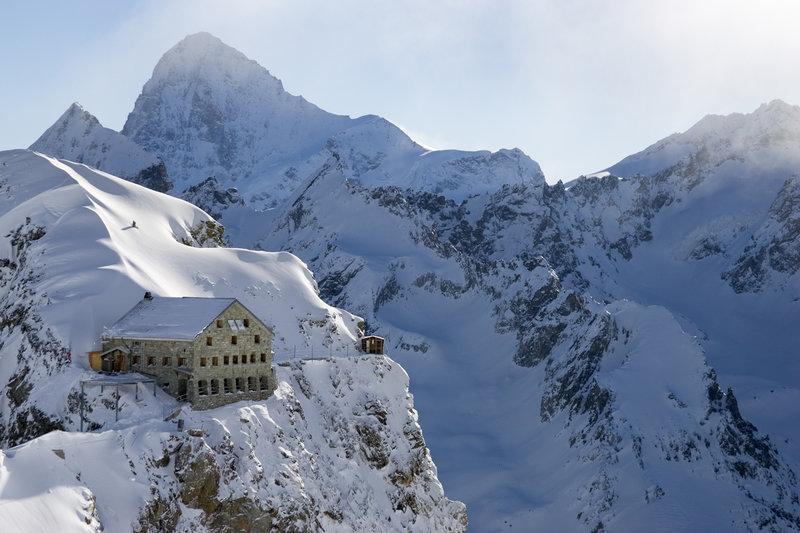 The Vignettes Hut. Switzerland