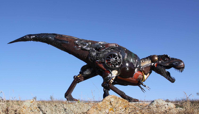 960 Iron animal Sculpture (32)