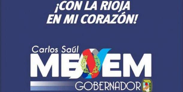 afiche Carlos Menem