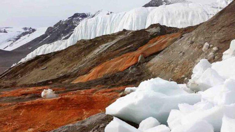 Cataratas Antártida 1