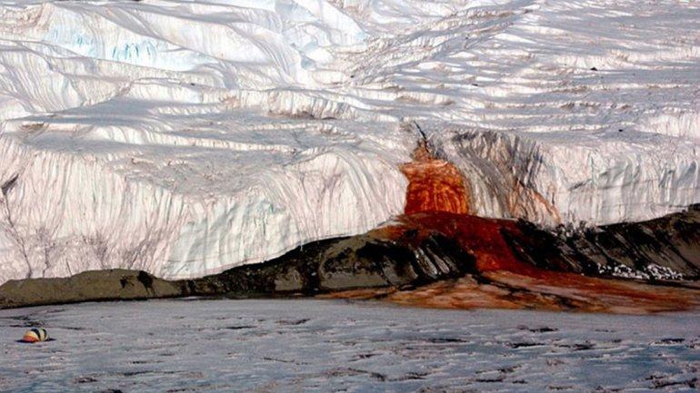Cataratas Antártida