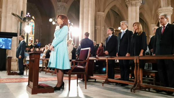 Cristina Kirchner tedeum