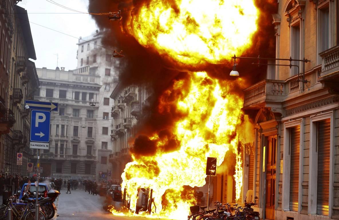 Enfrentamientos Milán 2