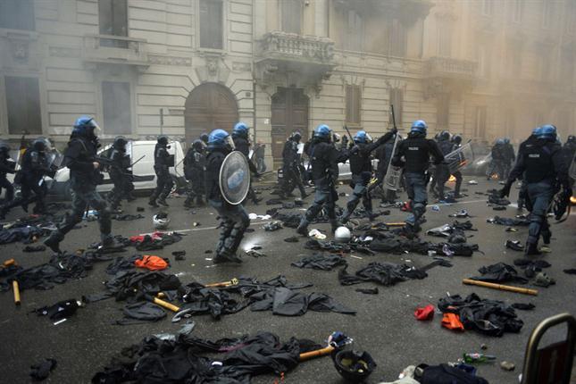 Enfrentamientos Milán 3