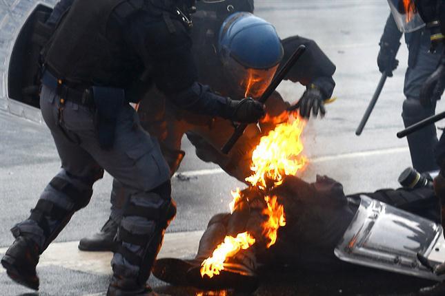 Enfrentamientos Milán 4