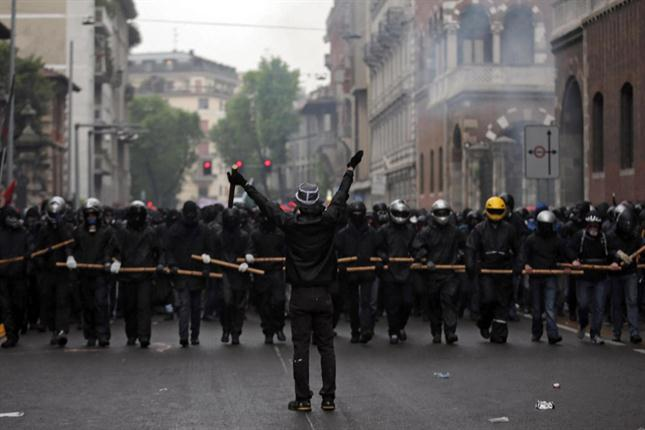 Enfrentamientos Milán 8