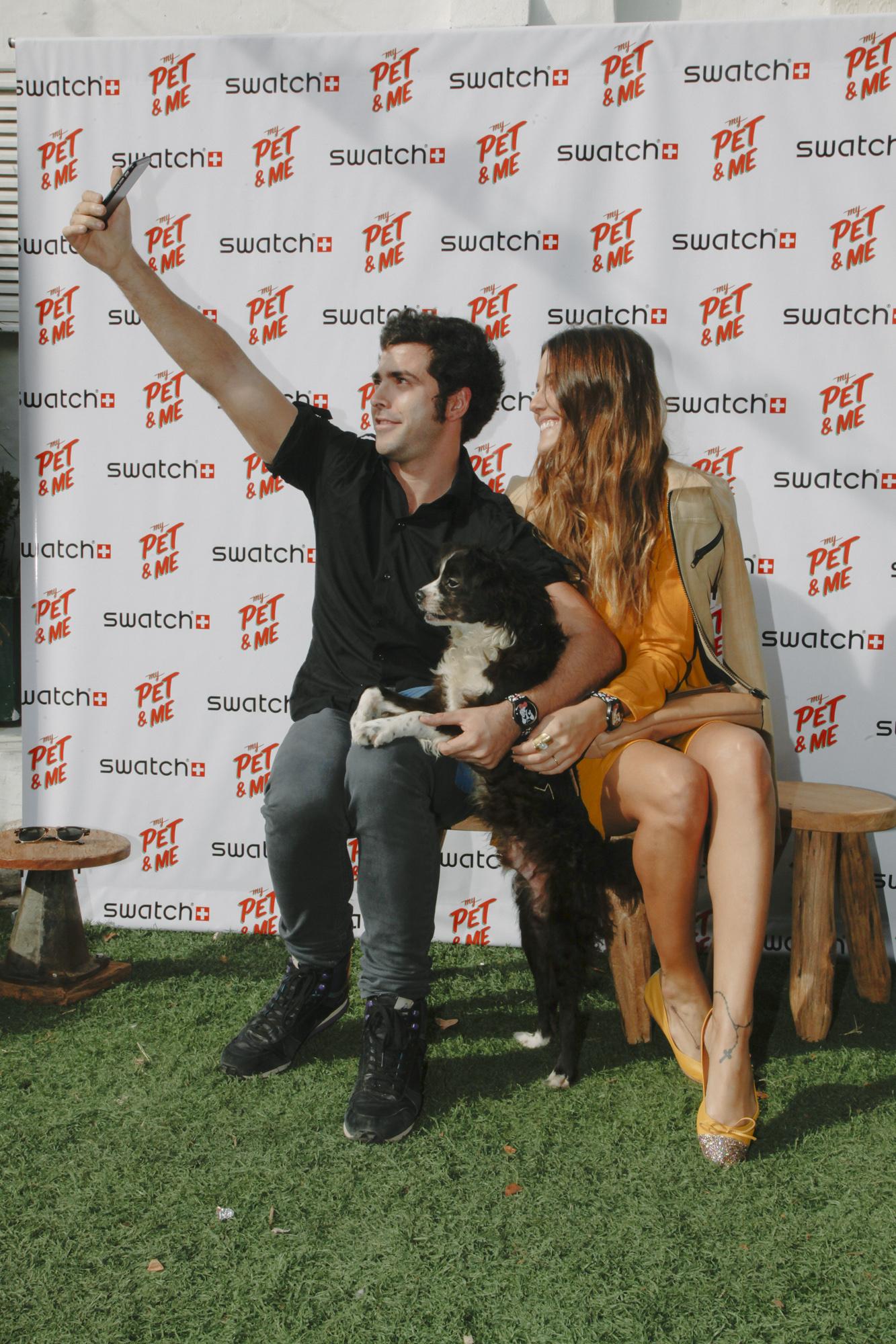 Evento Swatch My Pet And Me (5) - Nazareno Casero y Luli Fernandez