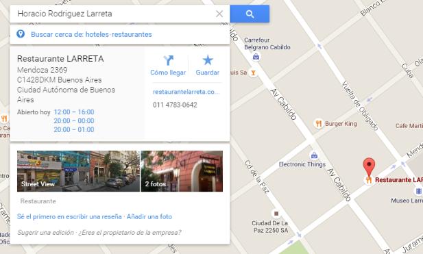larreta restaurant