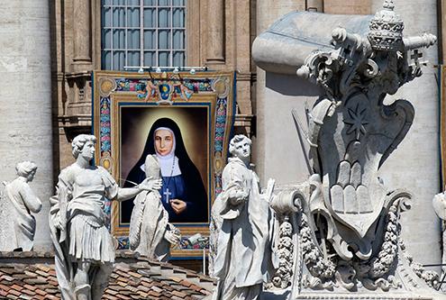 Papa Francisco Canonizacion monjas Palestinas 3