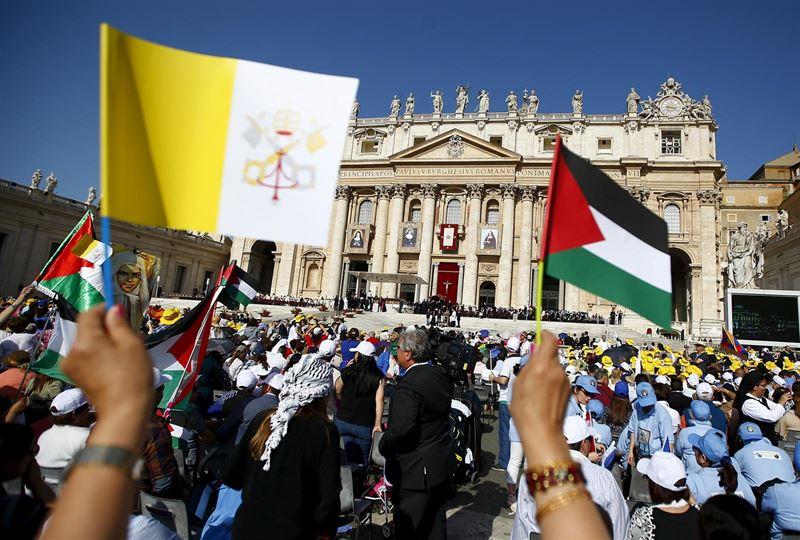 Papa Francisco Canonizacion monjas Palestinas 5