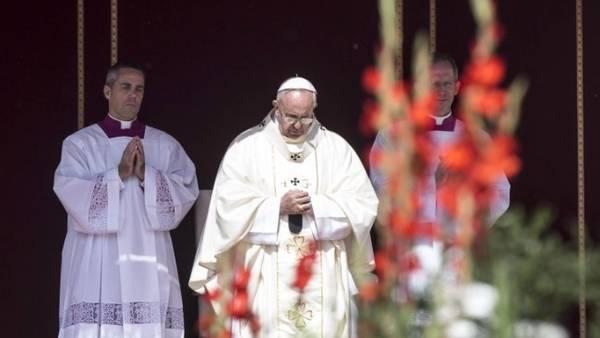 Papa Francisco Canonizacion monjas Palestinas 6