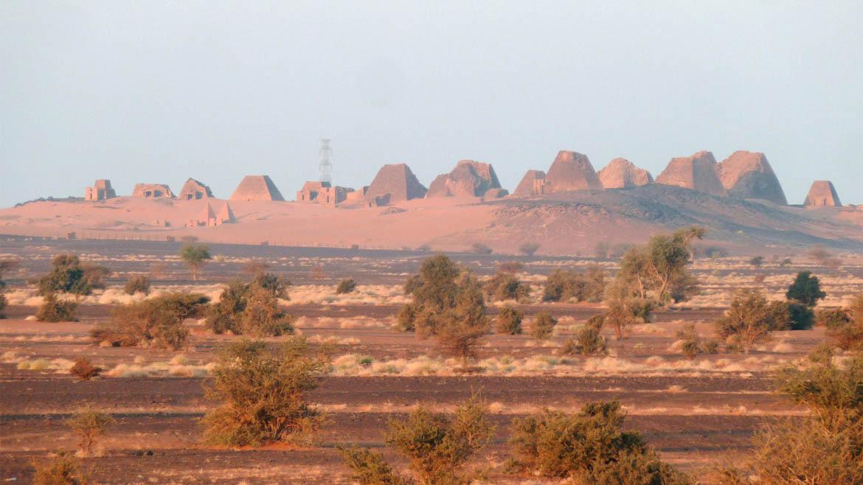 Piramide Sudán 7