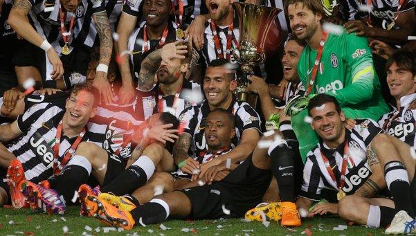 Tévez-Juventus-campeón