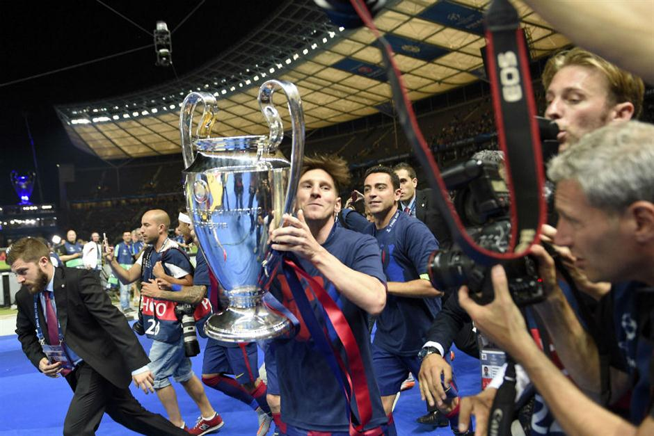 Champions League festejo Barcelona (1)