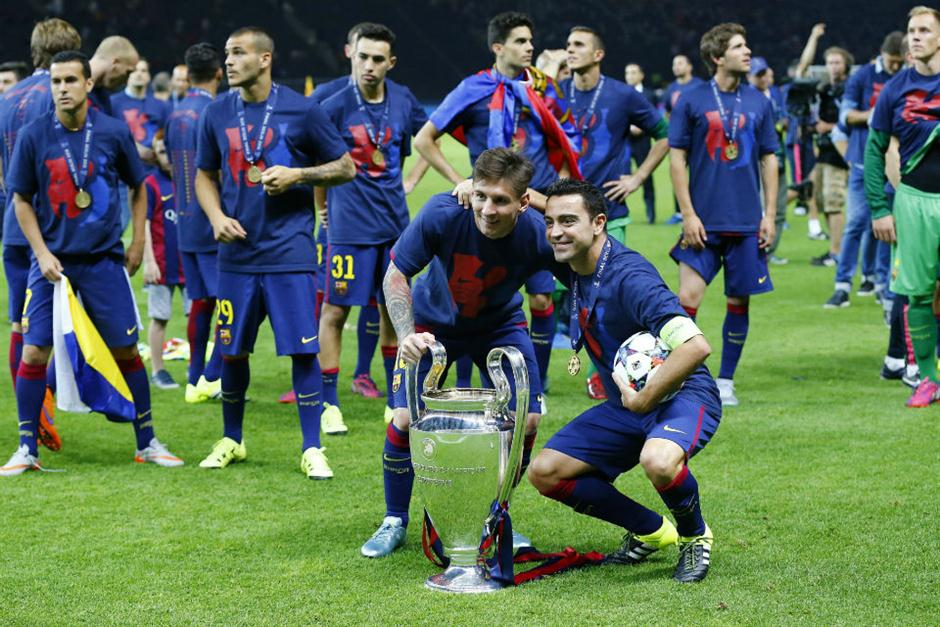 Champions League festejo Barcelona (10)