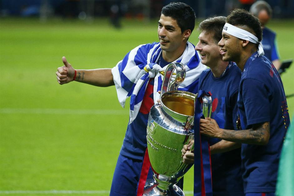 Champions League festejo Barcelona (9)