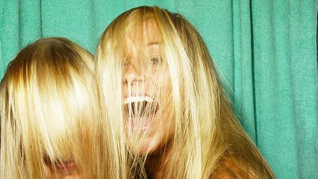 chicas rubias pelo