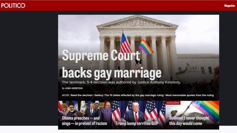 Diario Estados Unidos matrimonio gay 7