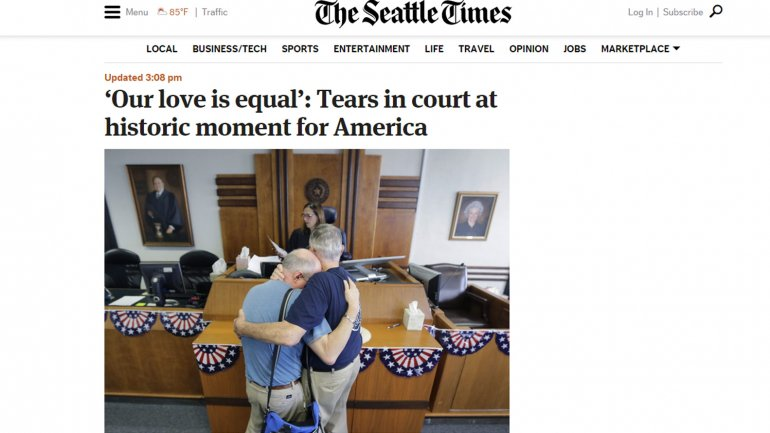 Diario Estados Unidos matrimonio gay 8