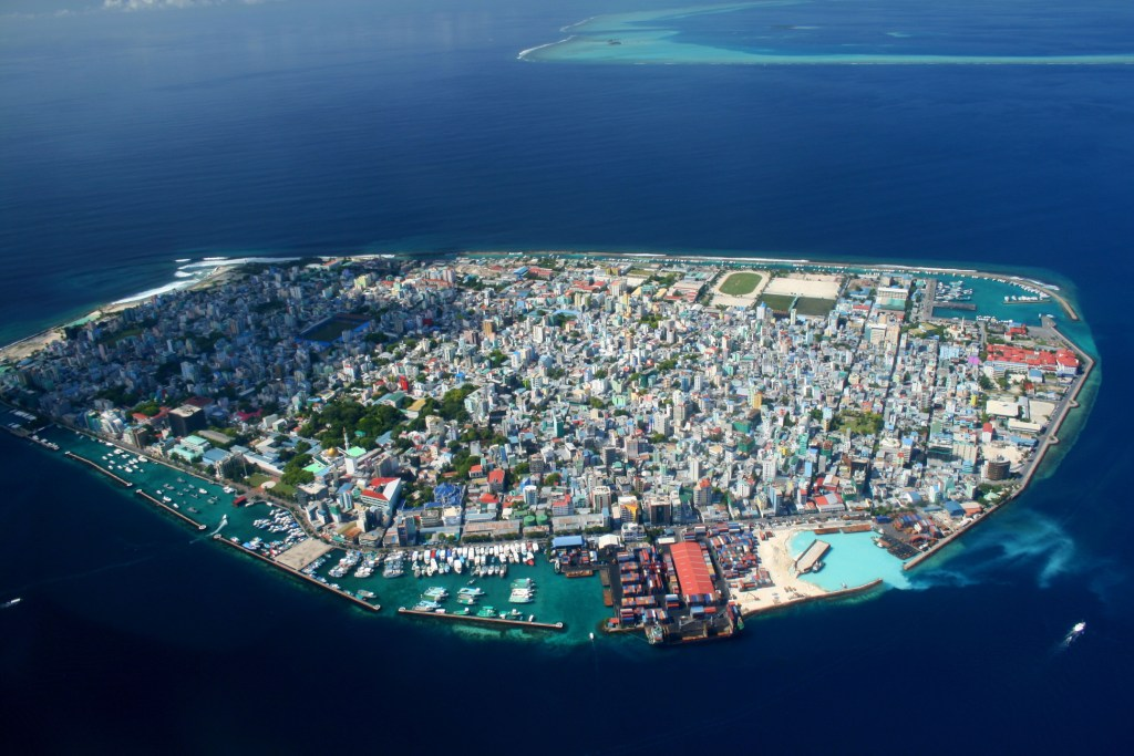 Malé (Maldivas) – Población: 103.693 habitantes