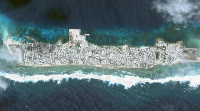 Ebeye Island (Islas Marshall) – Población: 15.000 habitantes