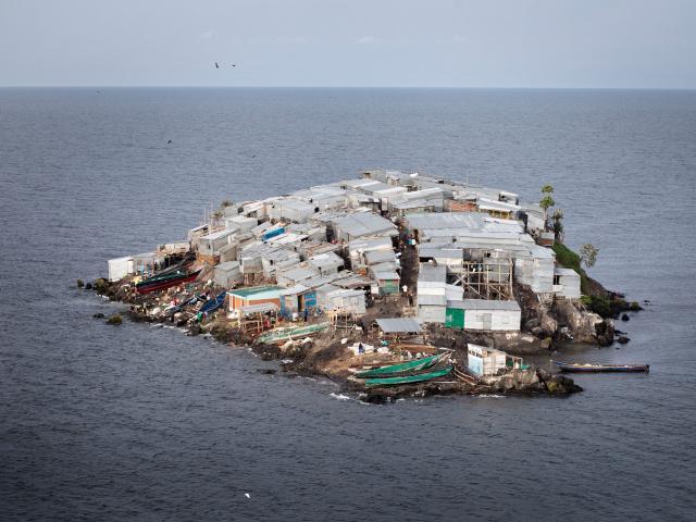 Migingo Island (Kenia) – Población: 400 habitantes