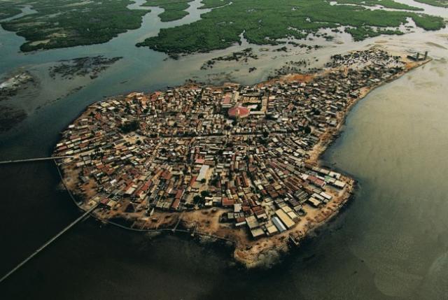 Isla Fadiouth (Senegal) – Población: 9.000 habitantes