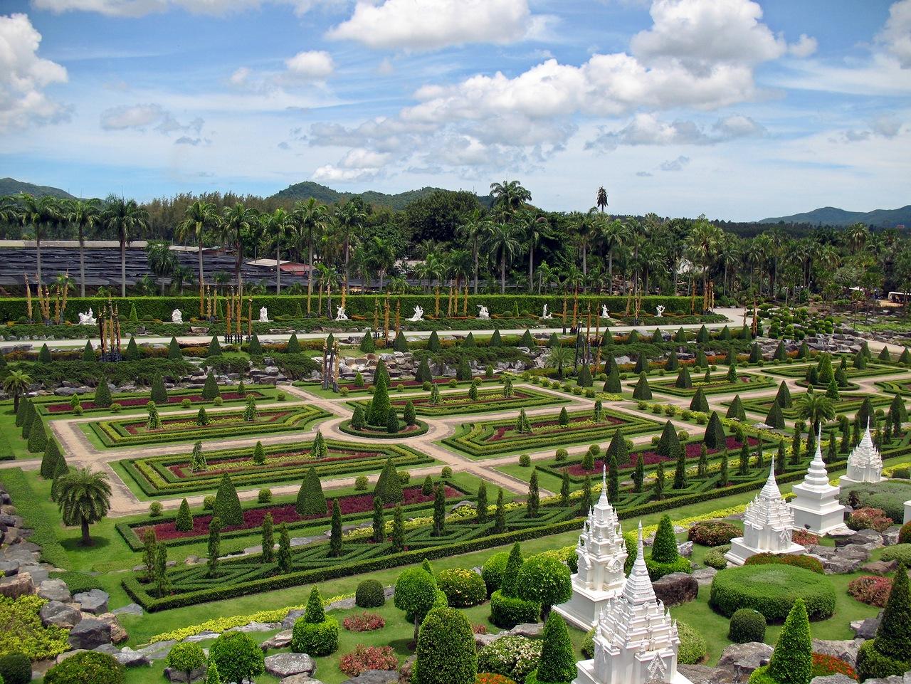 Jardín Botánico Tropical de Nong Nooch, Tailandia