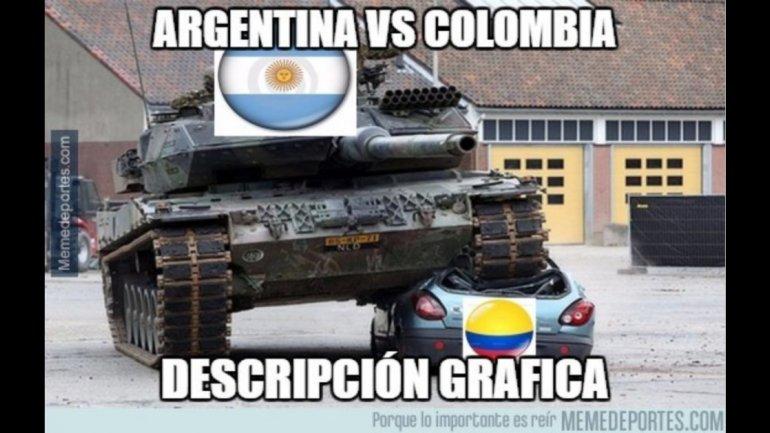 Meme Argentina Colombia 1