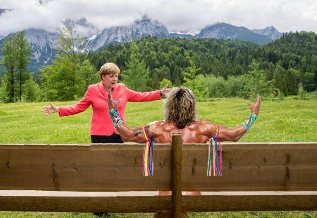 Meme Merkel Obama 2