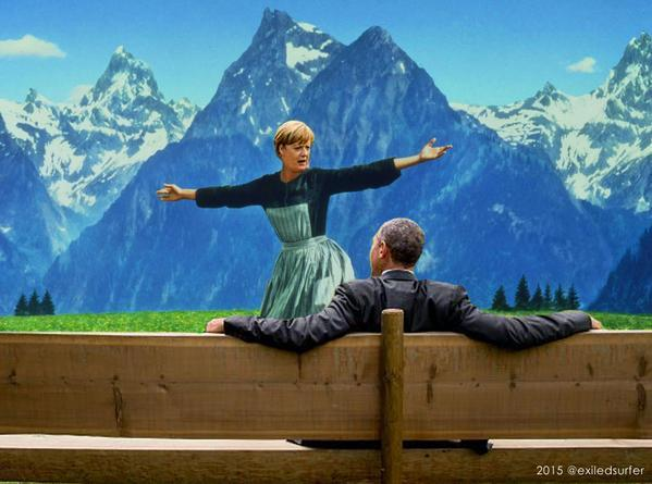 Meme Merkel Obama 6