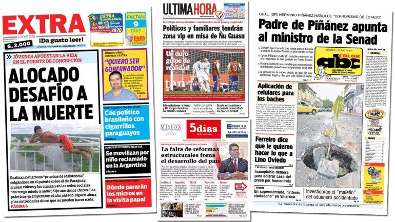 diarios paraguayos