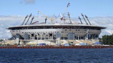 El Zenit Arena se ubica en San Petersburgo