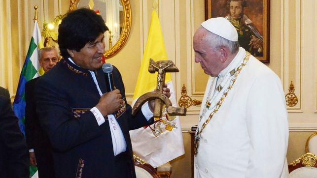 Evo-Morales-Papa-Francisco
