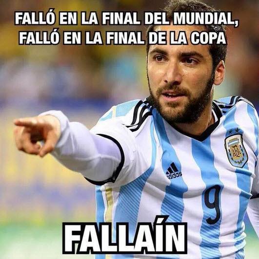 Final Copa America Meme 2