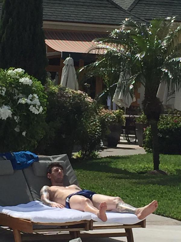 Messi de vacaciones 3