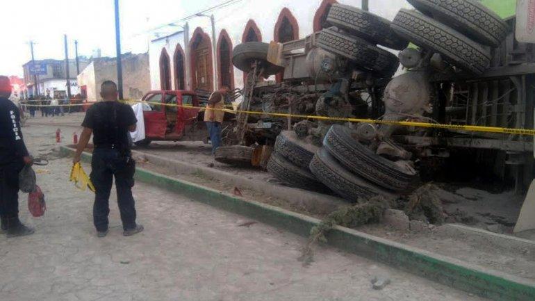 mexico camion peregrinacion