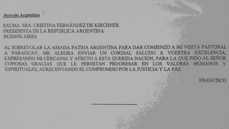 telegrama-papa-francisco-cristina