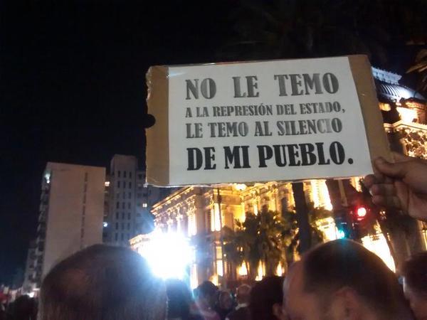 manifestacion por tucuman