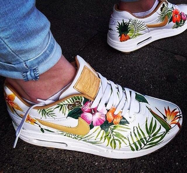 zapatillas nike air max mujer estampadas