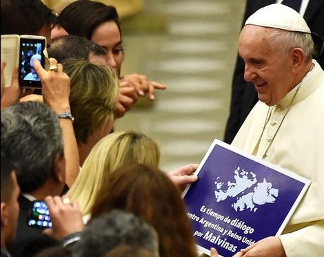 papa francisco malvinas