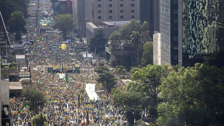 Protestas en Brasil 1