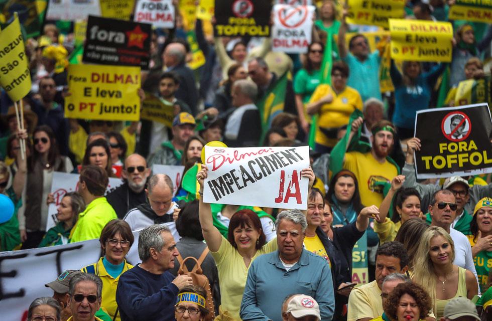 Protestas en Brasil 11