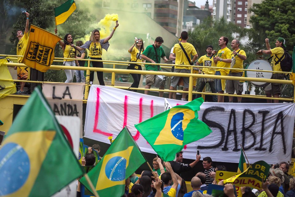 Protestas en Brasil 12