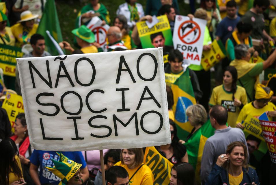 Protestas en Brasil 13