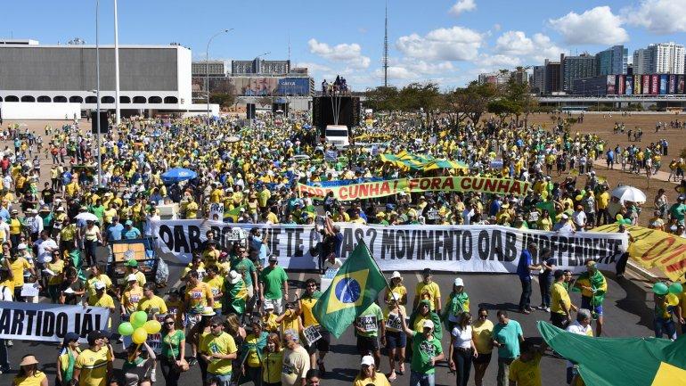 Protestas en Brasil 4