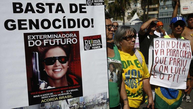 Protestas en Brasil 5
