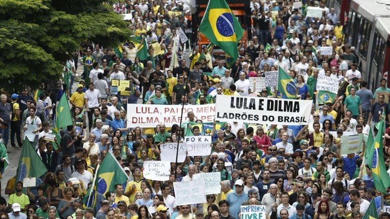 Protestas en Brasil 7